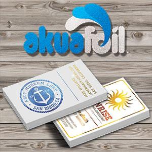 Akuafoil business cards akuafoil business cards colourmoves